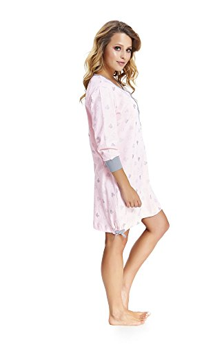 notte Pink nightwear dn Donna Indumenti da Tftn8xnXq