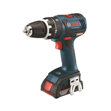 Hammer Drill Driver: Bosch Drills 18-Volt EC Brushless Compact Tough 1/2 in. HDS182-01L