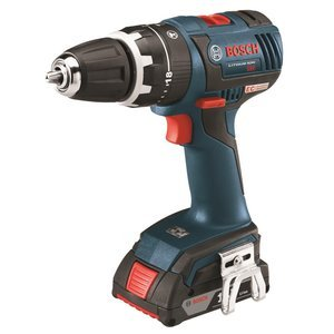 Bosch HDS182-02L 18-volt Brushless 1/2-Inch Compact Tough Hammer Drill/Driver with 2.0Ah Batteries, Charger and L-Boxx-2