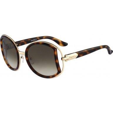Salvatore Ferragamo SF719S-238 Ladies Dark Tortoiseshell SF719S - Tortoiseshell Dark Glasses