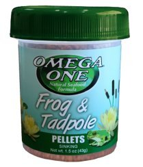 Picture of Omega One Frog & Tadpole Pellets 1.2oz