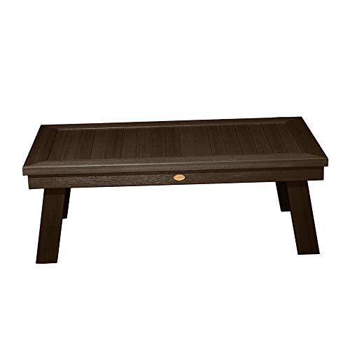 Adirondack Coffee Table Finish - Highwood AD-DSCT1-ACE Adirondack Conversation Table, Weathered Acorn