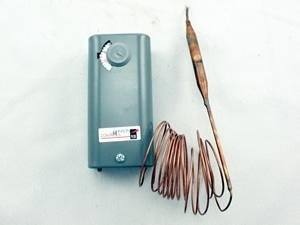 Temperature Control SPST Open Low -30 to 100 F Manual Reset 10ft Cap 120/240V