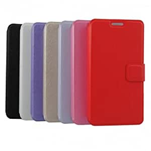 PU+PC Holder Protective Case For Samsung Galaxy Note 3 --- Color:Cream