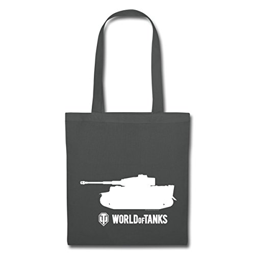 Tote Tanks World Graphite Tank Contour Tiger Bag Grey Of Spreadshirt wSEqOYw