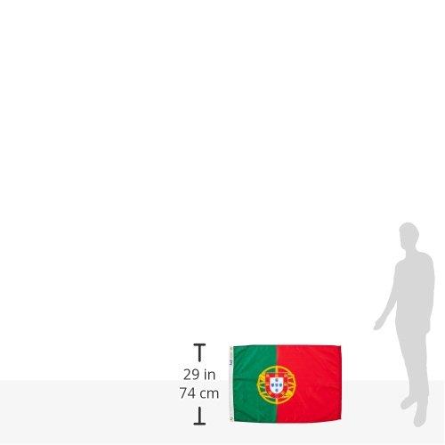 ANNIN & COMPANY Annin Flagmakers 196846 Nylon SolarGuard nyl-GLO Bandera de Portugal, 2 x 3 : Amazon.es: Jardín