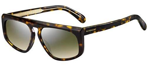 selezione premium 67829 7bea2 Occhiali da sole Givenchy GV SQUARED GV 7125/S DARK HAVANA ...