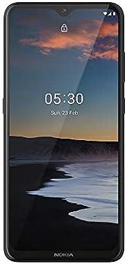 Smartphone Nokia 5.3 128GB Dual SIM 4GB RAM Tela 6,55 Pol. Câmera Quádrupla com IA + Lentes Ultra-Wide Carvão