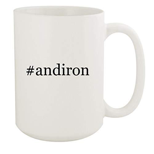 #andiron - 15oz Hashtag White Ceramic Coffee Mug