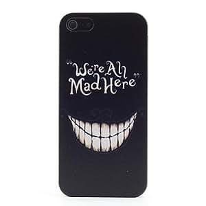 MOFY- Estamos enojados aqu' Patr—n de pl‡stico duro caso para iPhone 5/5S