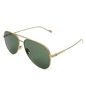 Yves Saint Laurent sunglasses (SL-193-T 004) Matt Gold - Grey green lenses