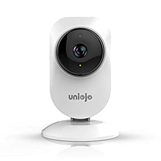 Home Camera Indoor,UNIOJO WiFi Camera,Compatible with Alexa for Home/Office/ Baby/Pet Monitor with iOS, Android App - Cloud Service Available