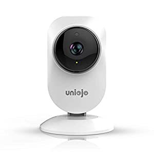 Home Camera Indoor,UNIOJO 1080P HD WiFi Camera,Compatible with Alexa for Home/Office/Baby/Pet Monitor with iOS, Android App – Cloud Service Available