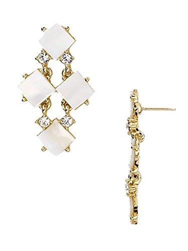 kate spade new york Pearl Cove Chandelier Earrings