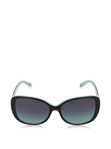 Blue Sunglasses Black (Tiffany TF4121B 80559S Black/Blue TF4121B Butterfly Sunglasses Lens Category)