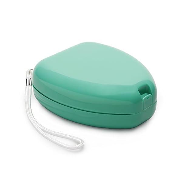 Lunata (Upgrade 2019) CPR Mascarilla de primeros auxilios CON conexión de Oxígeno, Máscara para Respiración artificial de Emergencia, Máscara de Emergencia, Máscara de Reanimación 5