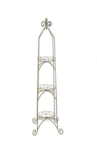 Willow Plant Stand - Panacea 86735 B00I8PDKN8, Antique Willow Green