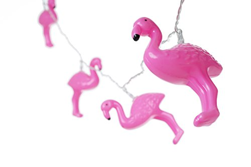 """Price comparison product image Catalina Lighting 20644-000 Pinky 72.8"""" Flamingo LED String Lights,  Pink"""