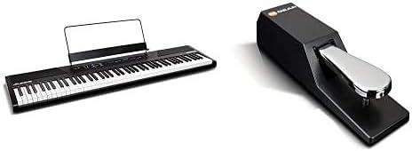 Alesis RecitalTeclado de Piano Digital Eléctrico con 88 ...