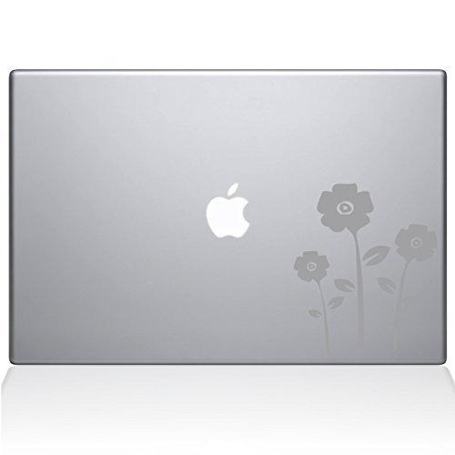 激安人気新品 The Decal Guru 1062-MAC-15X-S Decal Flowers Decal Flowers Vinyl Silver Sticker for 15 MacBook Pro 2016 & Newer Models Silver [並行輸入品] B078DZKDCB, さぬきうどん 別腹倶楽部:f01f9513 --- a0267596.xsph.ru