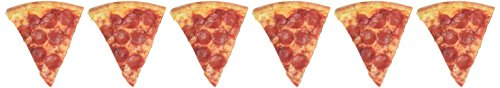 Paper House Productions M-0276E Die Cut Refrigerator Magnet, Pizza Slice (6-Pack) (Pizza Fridge Magnet compare prices)
