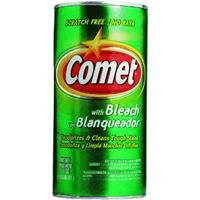 Comet with Bleach (Scratch Free) NET WT 14OZ.