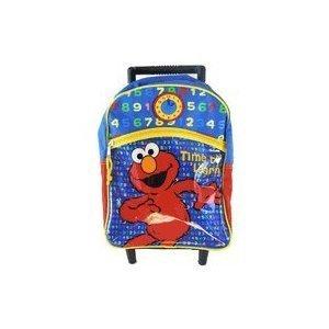 Sesame Street Elmo Rolling Backpack