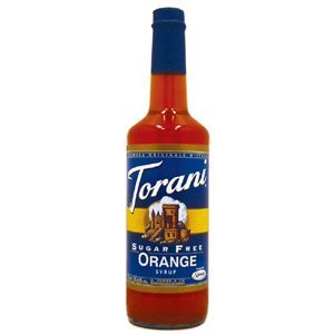 Torani Sugar Free Orange Syrup