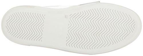 Just Cavalli Mujer's Patent Lth Con Fringe Fashion Sneaker Blanco