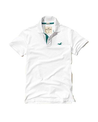 hollister-mens-polo-shirt-t-shirt-medium-stretch-white