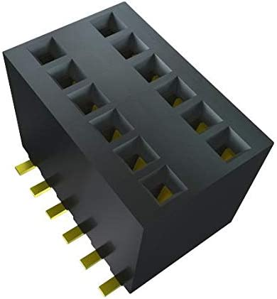 60 Contacts RSM-130-02-S-D Board-To-Board Connector RSM Series Pack of 5 2 Rows 1.27 mm Receptacle Surface Mount RSM-130-02-S-D