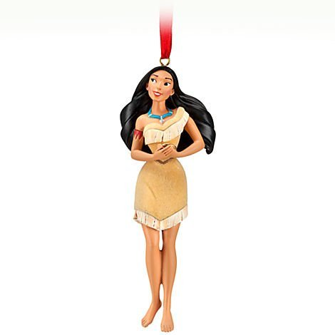 Disney Pocahontas 'Listen to Your Heart' Sketchbook Ornament