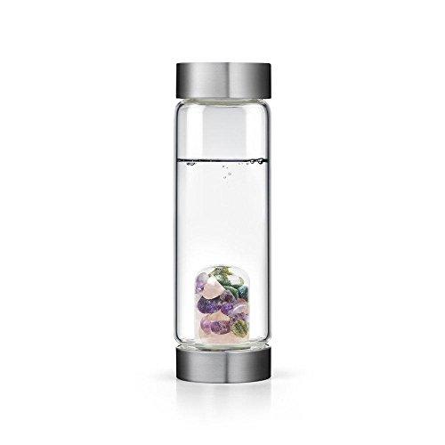 ずんぐりした議論する宿Beauty gem-waterボトルby VitaJuwel W / Freeカリフォルニアホワイトセージバンドル 16.9 fl oz