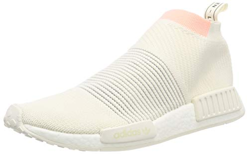 adidas Damen NMD_cs1 Pk W Gymnastikschuhe Weiß (Cloud White/Cloud White/Clear Orange)