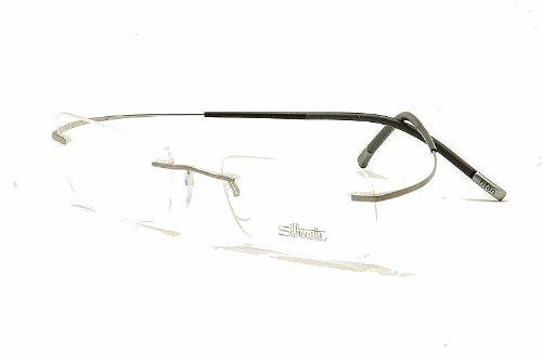 Silhouette eyeglasses titan minimal art chassis 7581 6061 for Minimal art silhouette