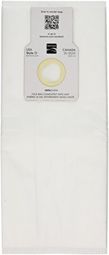 EnviroCare Technologies Micro Filtration Vacuum Bags - Designed to fit Kenmore Upright 50688 and 50690, Panasonic Type U-2, and Miele Upright Type Z - 50688 Micro Filtration Vacuum Bags