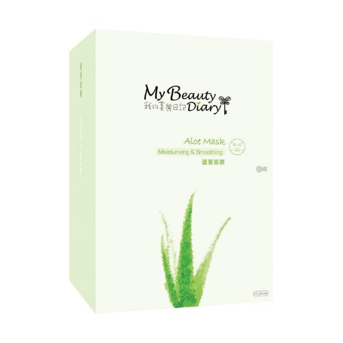 My Beauty Diary My Beauty Diary Aloe Mask II, 10 Count