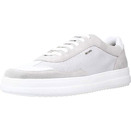 Geox Herren U TAYRVIN A Sneaker, Weiß (White C1000), 40 EU