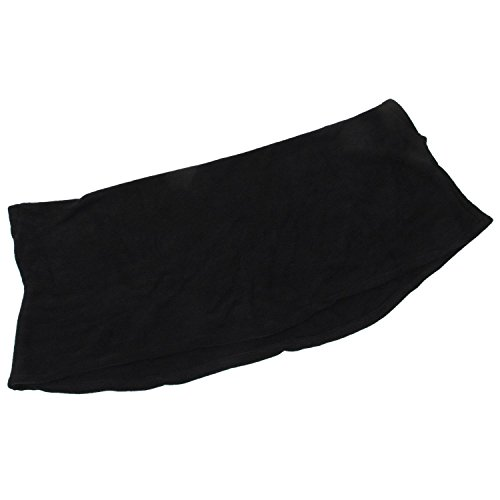 ニットセーター,SODIAL(R)女性のバットウィングトップ ポンチョニットケープカーディガン 長袖コート ニットセーター-M(黒)