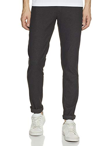 Roots By Ruggers Men's Straight Fit Casual Trousers
