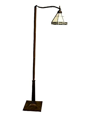 Tiffany Style Mission Reading Floor Lamp