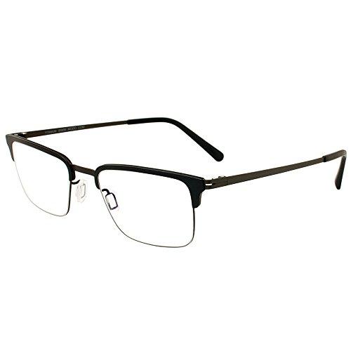 Modo 4062 BLK Black Titanium Rectangular Eyeglasses 50mm