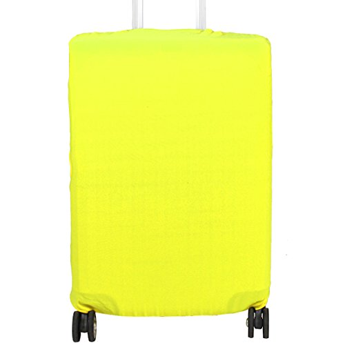 uxcell SAFEBET Authorized Polyester Travel Case Elastic Dustproof Protector Cover Bag 26-30 Inch Yellow by uxcell