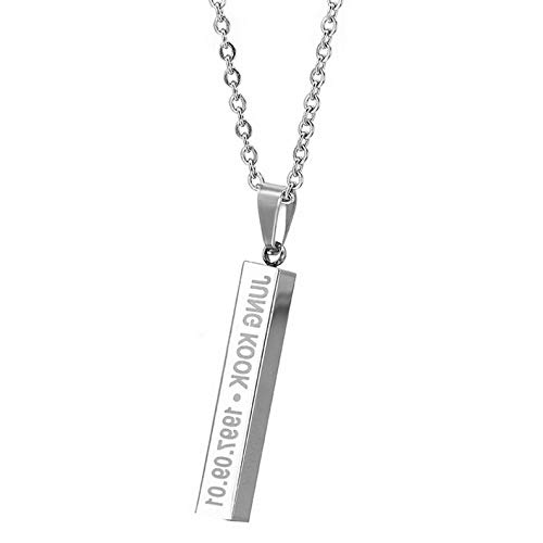 (Mikash Boys Long Chain Steel Pendant Necklace Jewelry for Fans Gift | Model NCKLCS - 40459 |)