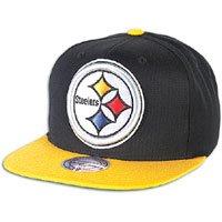 Pittsburgh Steelers Big Logo Black/Yellow Adjustable Snapback Hat/Cap