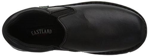 Eastland Newport Herren Schwarz Rund Leder Slipper Schuhe Neu EU 40