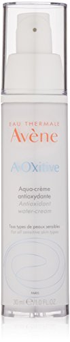 Eau Thermale Avene A-Oxitive Antioxidant Water Cream, Vitamin C & E, Hyaluronic Acid, Free Radical Protection, 1 oz.
