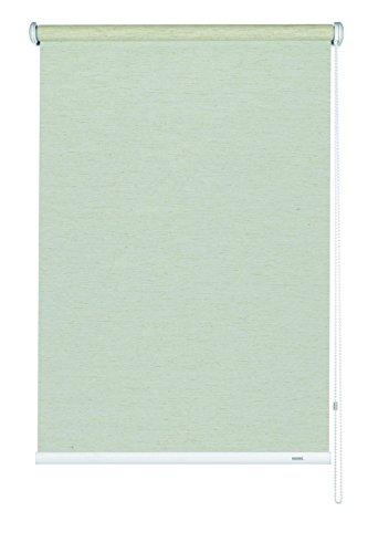 Gardinia 6525122180 Seitenzug-Rollo Lichtdurchlässig, 122 x 180 cm, Silvalin natur