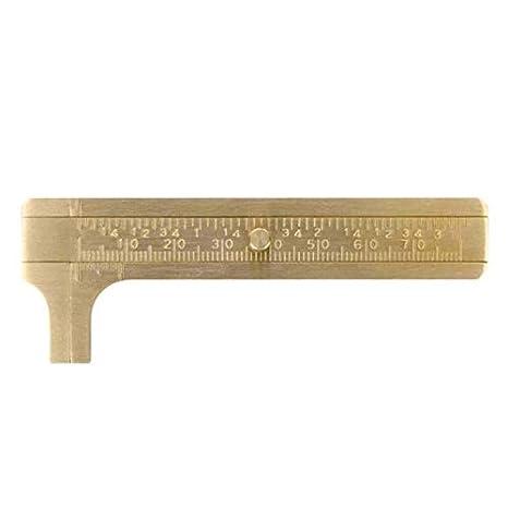 Amazon.com: Calibrador de tamaño de bolsillo, 3.150 – 4.724 ...