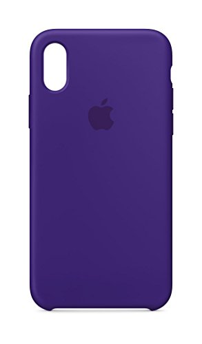 Price comparison product image Apple iPhone X Silicone Case - Ultra Violet